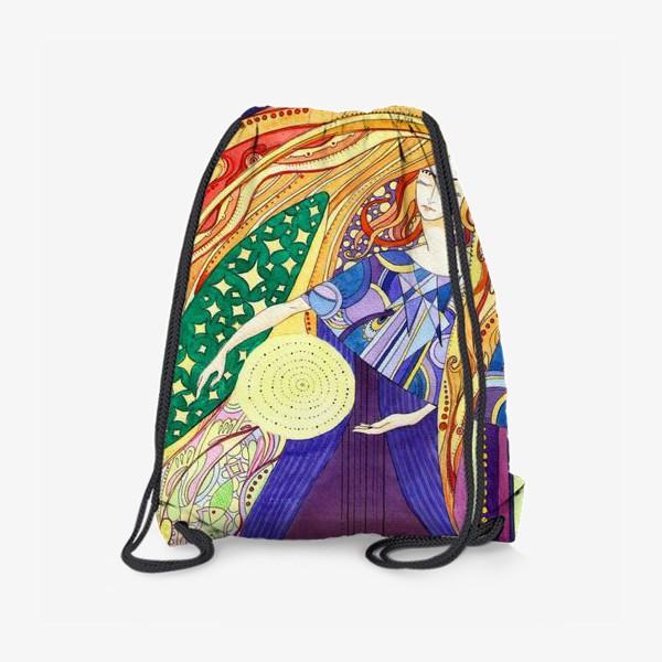 Рюкзак «космическая дева»