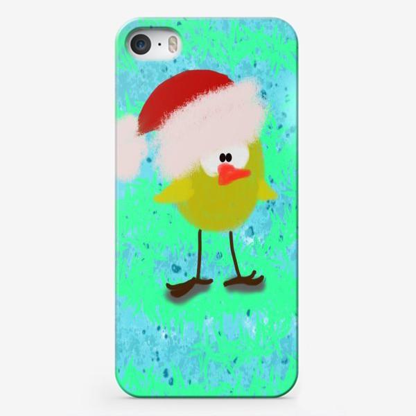 Чехол iPhone «Новогодний цыпленок»