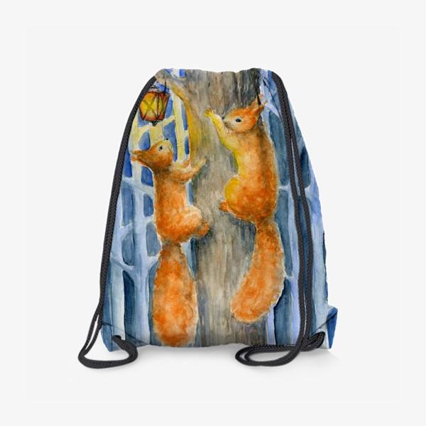 Рюкзак «Новогодние белки»