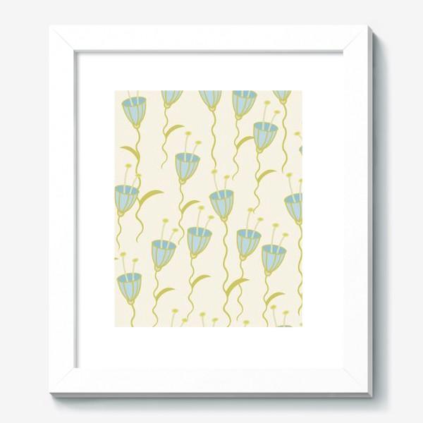 Картина «campanula flowers»