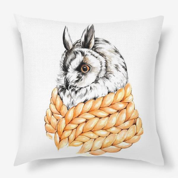 Подушка «Совушка в шарфе»