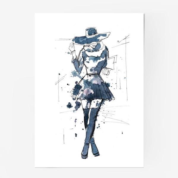Постер «Модная девушка»
