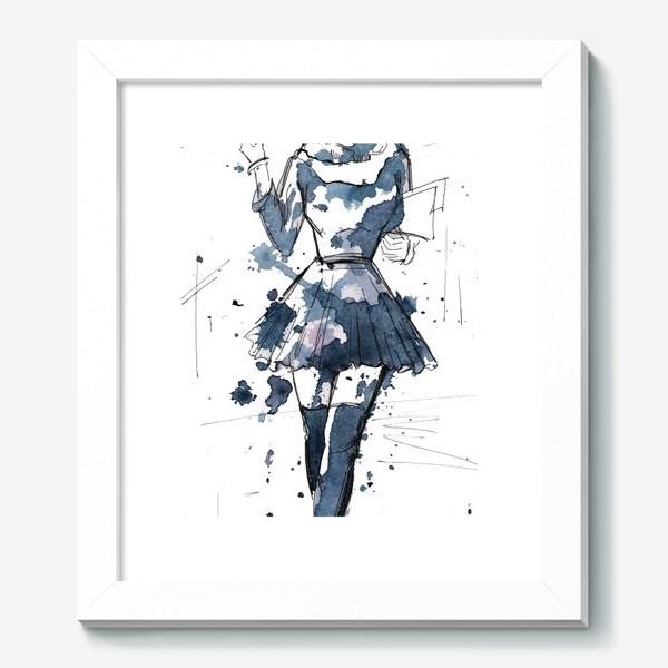 Картина «Модная девушка»