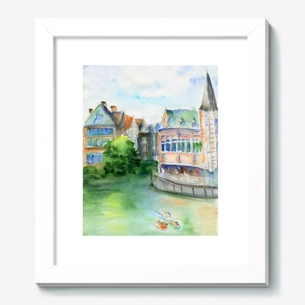 Картина «Город Гент Бельгия»