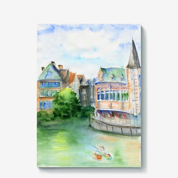 Холст «Город Гент Бельгия»