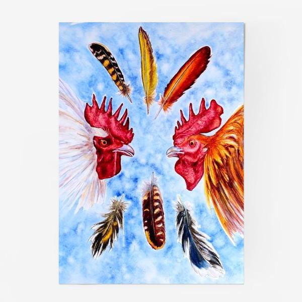 Постер «Бойцовские петухи (roosters)»