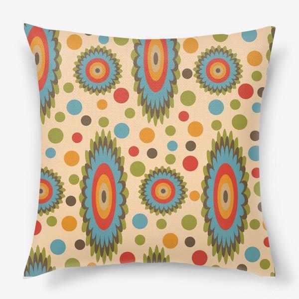 Подушка «узор цветная фантазия»