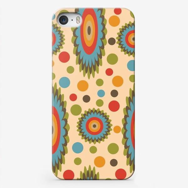 Чехол iPhone «узор цветная фантазия»