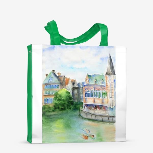 Сумка-шоппер «Город Гент Бельгия»