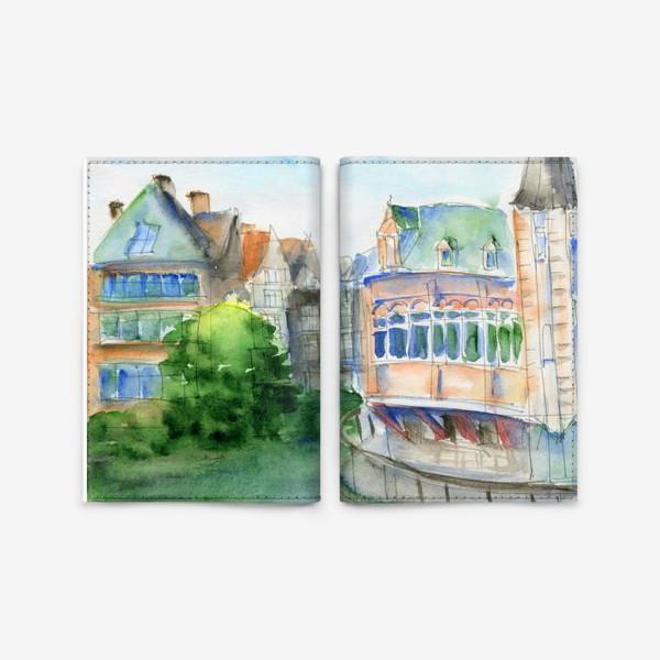 Обложка для паспорта «Город Гент Бельгия»