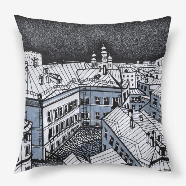 Подушка «Город Москва»
