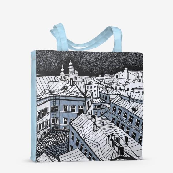 Сумка-шоппер «Город Москва»