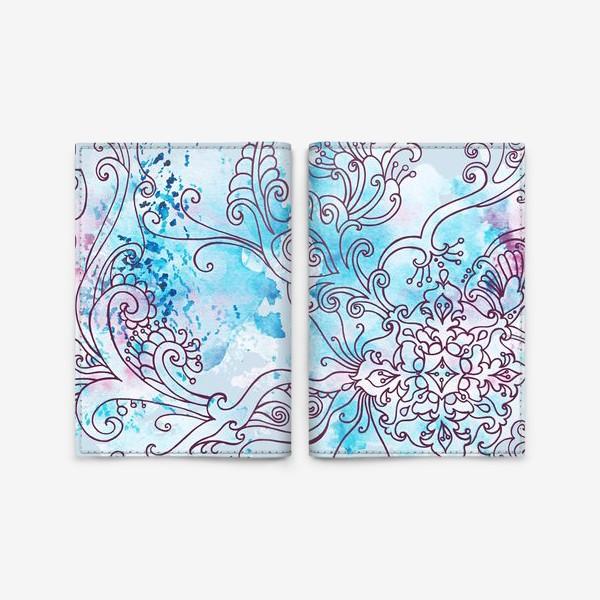 Обложка для паспорта «Зима узор»