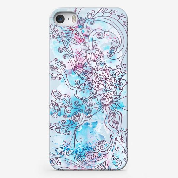 Чехол iPhone «Зима узор»