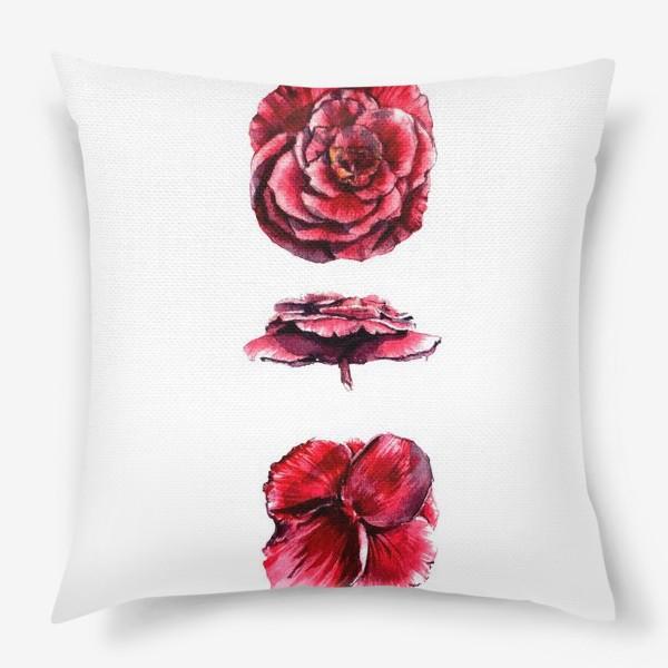 Подушка «Архитектура цветка»