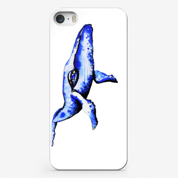 Чехол iPhone «Кит - мечта каждого романтика»