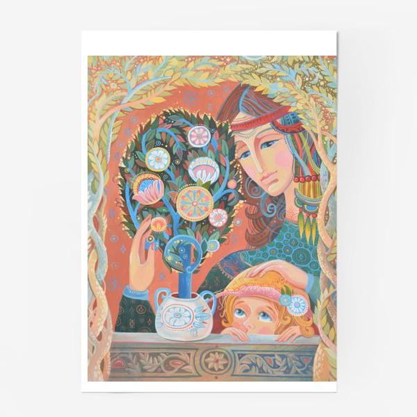 Постер «бонсай»