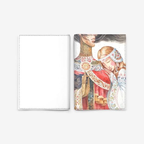 Обложка для паспорта «первый снег»