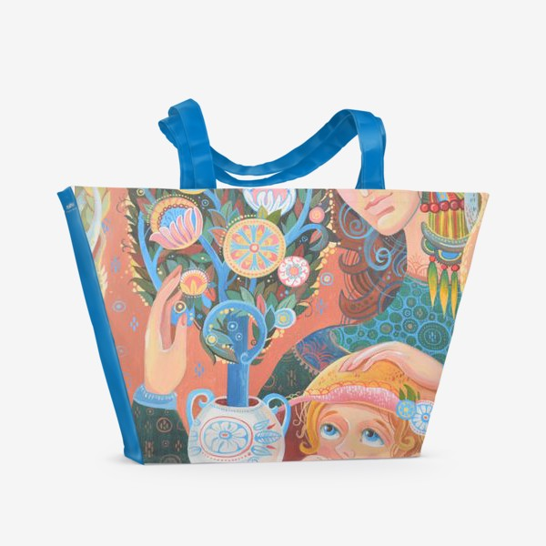 Пляжная сумка «бонсай»