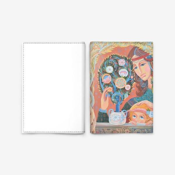 Обложка для паспорта «бонсай»