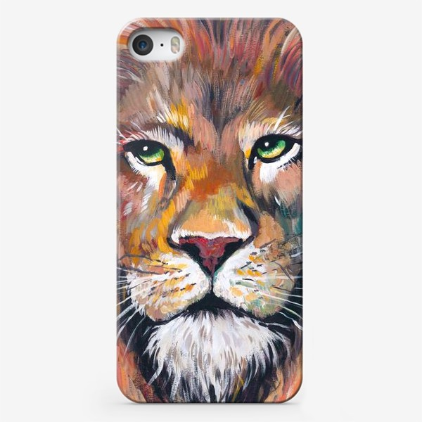 Чехол iPhone «Царь зверей»
