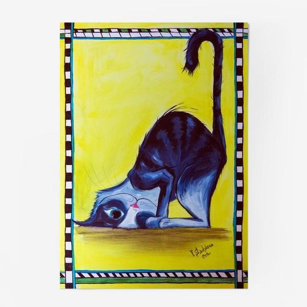 Постер «Милый кот?»