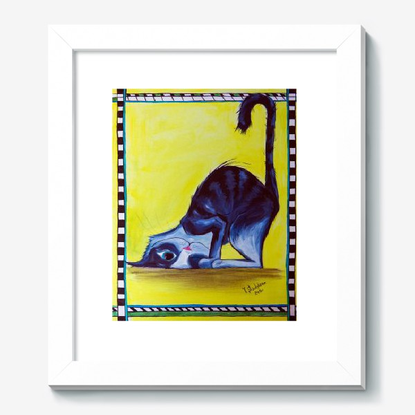 Картина «Милый кот?»