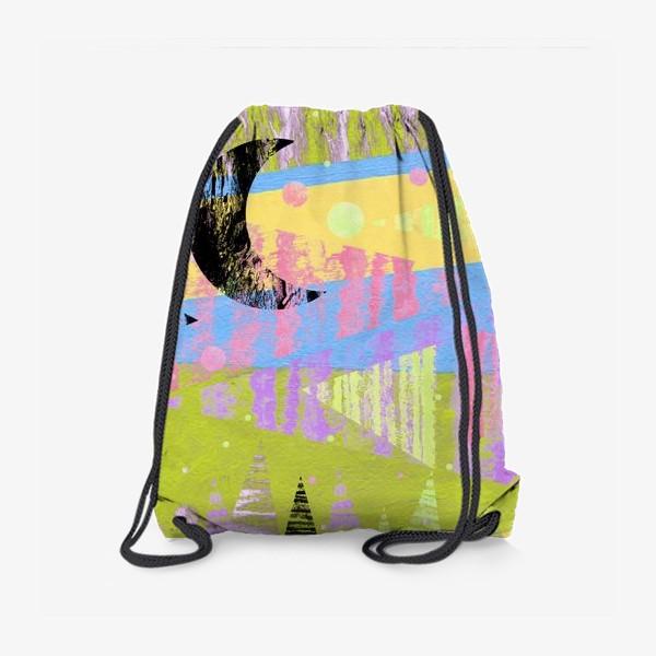 Рюкзак «Новогодние яркие елки»