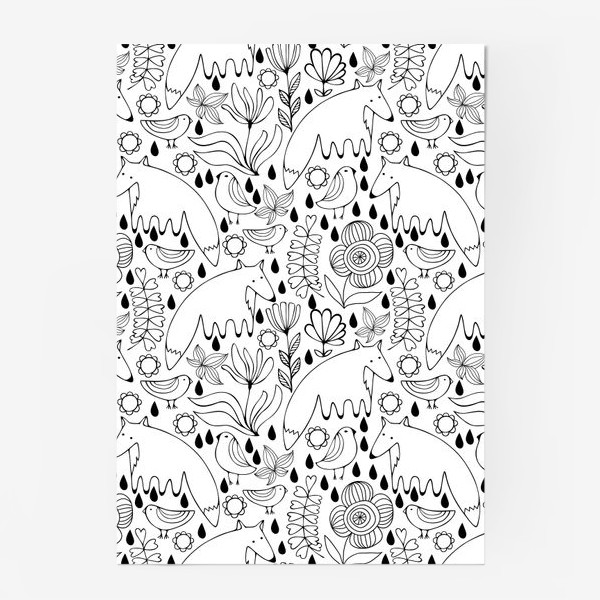 Постер «Белые лисы»