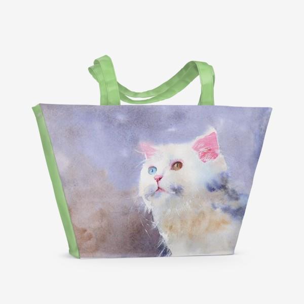 Пляжная сумка «Снежок»