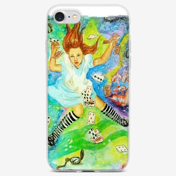 Чехол iPhone «Алиса в Зазеркалье»