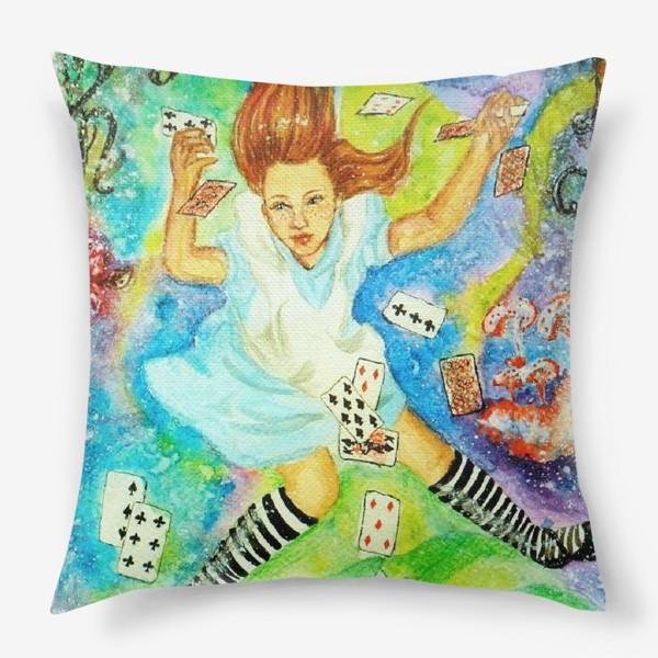 Подушка «Алиса в Зазеркалье»
