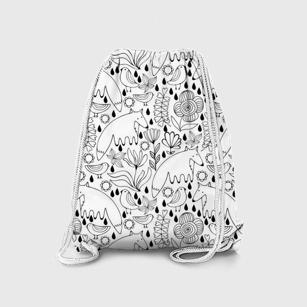 Рюкзак «Белые лисы»