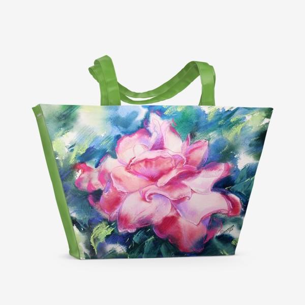 Пляжная сумка «Королева Роз»