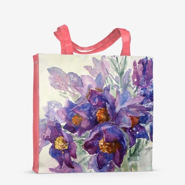 Сумка-шоппер «Весенний букетик»