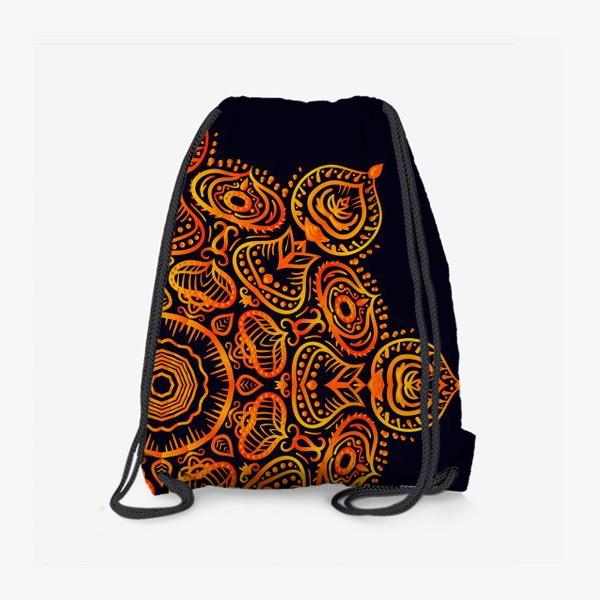 Рюкзак «Золотая мандала»