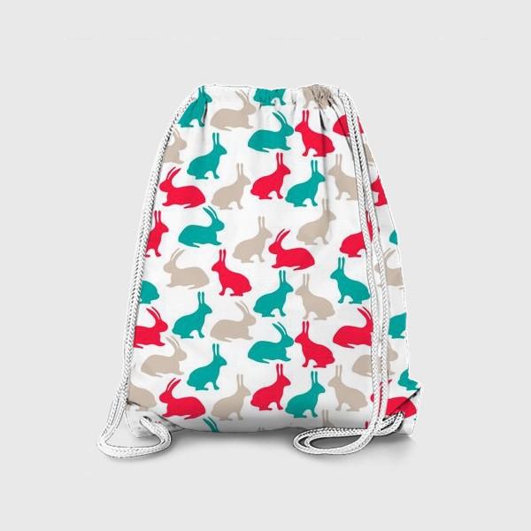 Рюкзак «Весенние кролики»