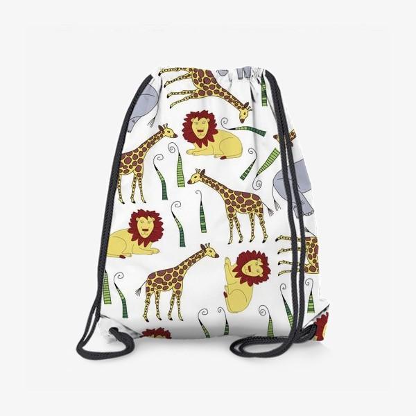 Рюкзак «Звери из Африки»