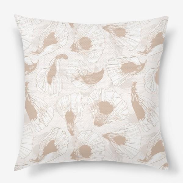 Подушка «Лепестки твоих цветов -2»