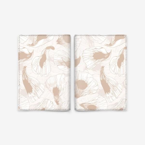 Обложка для паспорта «Лепестки твоих цветов -2»