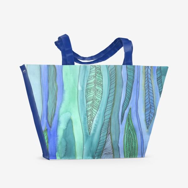 Пляжная сумка «Водоросли»