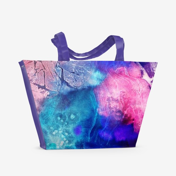 Пляжная сумка «Волшебная акварель»