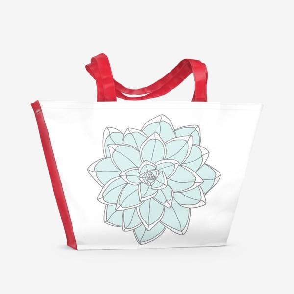 Пляжная сумка «Succulent»
