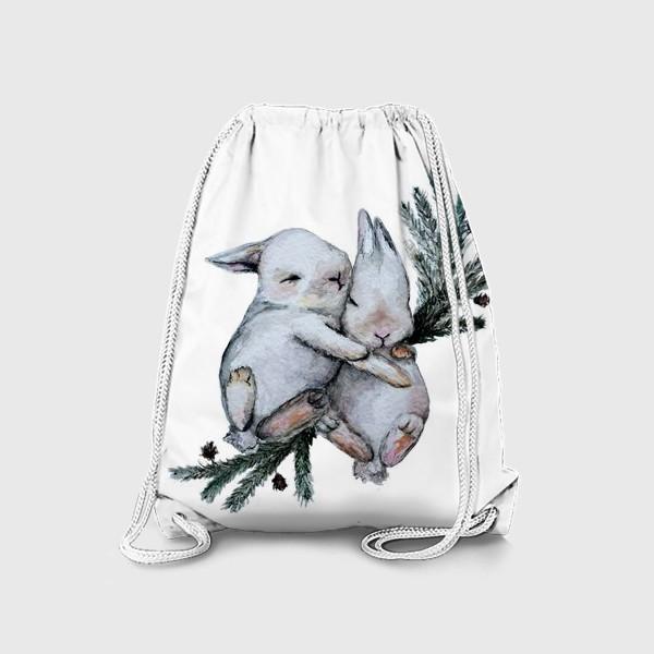 Рюкзак «Зайчата»