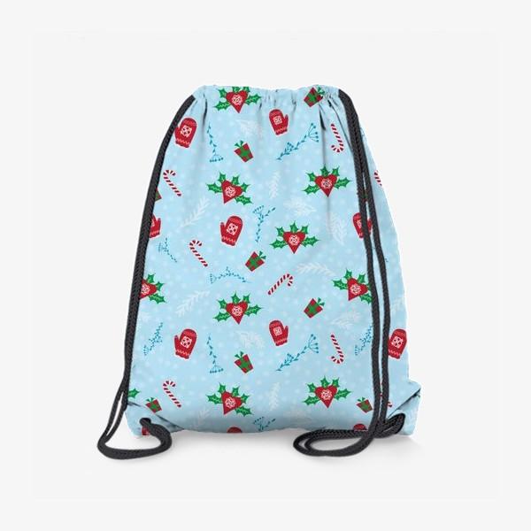 Рюкзак «Зимний Паттерн»