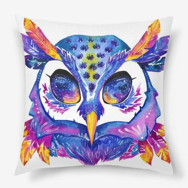 Подушка «Космическая сова»