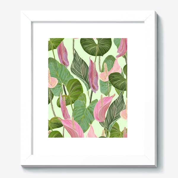 Картина «Pink anthurium»