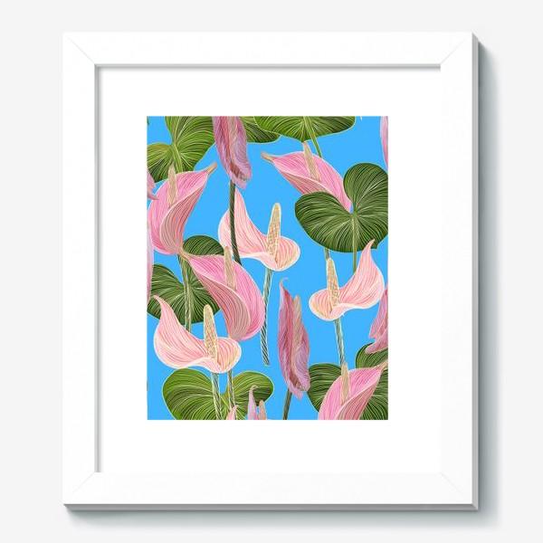 Картина «Pink anthurium 2»