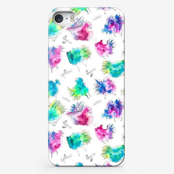Чехол iPhone «Вкусно Сочно Червячно»