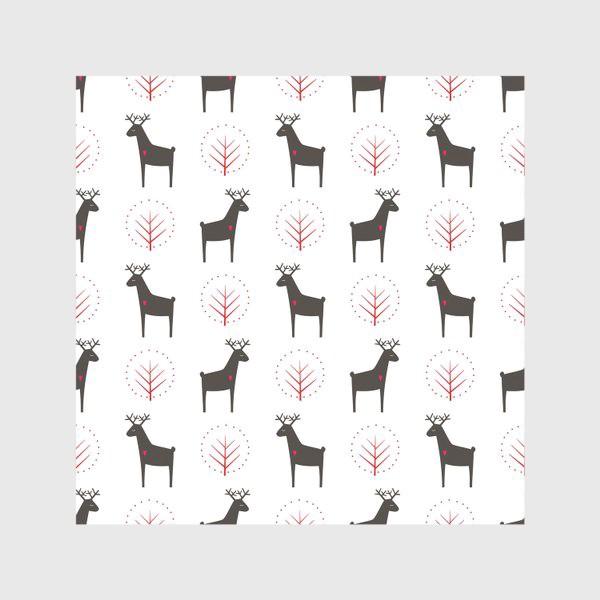 Скатерть «Рождественские олени»